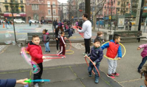Kindergarten PE